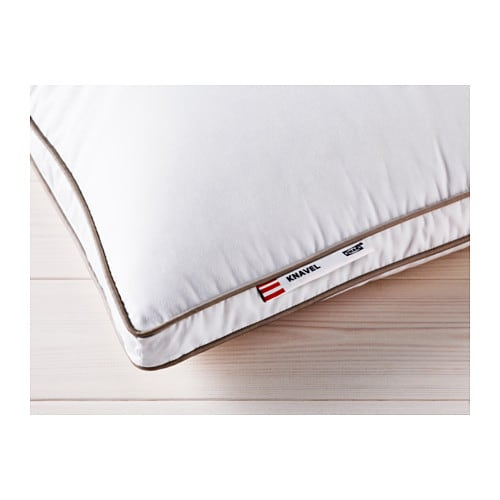 IKEA KNAVEL pillow, firmer