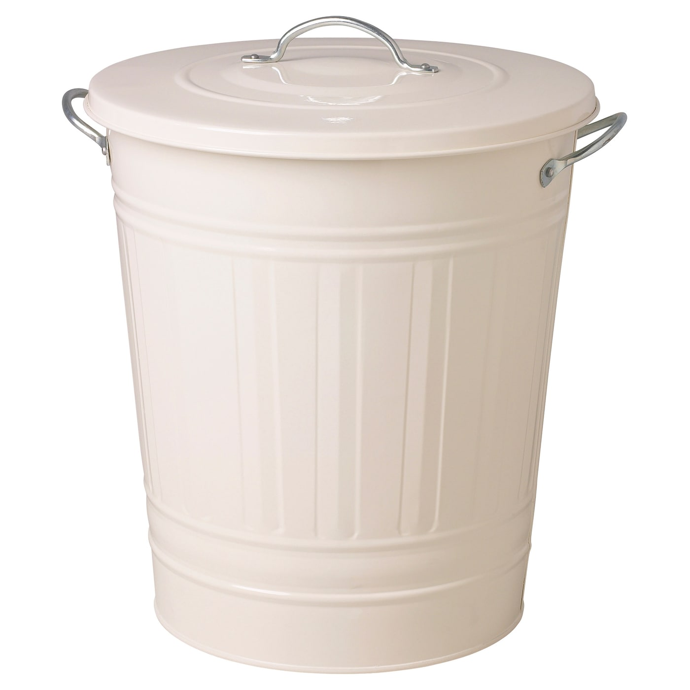 White Kitchen Bin knodd bin with lid white 40 l - ikea