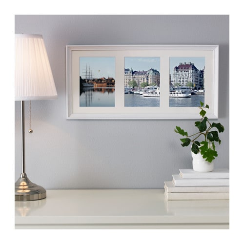 ikea knoppng frame for 3 pictures ph neutral mount will not discolour the picture