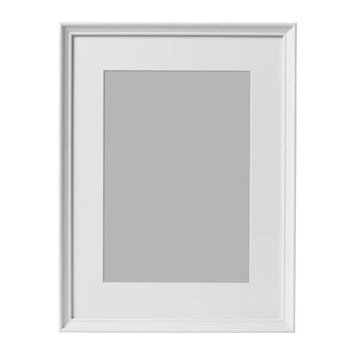 KNOPPÄNG Frame White stained 30 x 40 cm - IKEA
