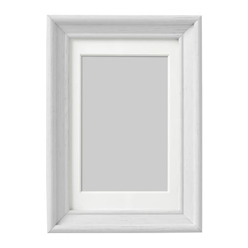 KNOPPÄNG Frame White stained 10 x 15 cm - IKEA