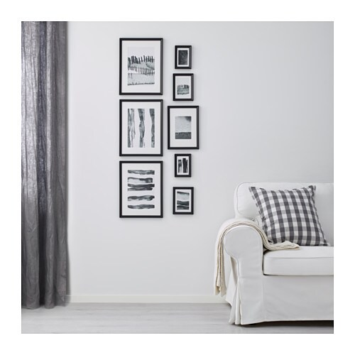 Ikea knoppäng frame with poster set of 8 motif created by hanna dalrot