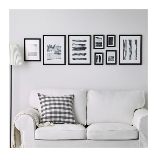 IKEA KNOPPÄNG frame with poster, set of 8 Motif created by Hanna Dalrot.
