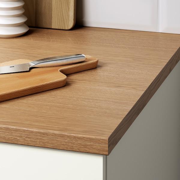 KNOXHULT Corner base cabinet, white, 100x91 cm