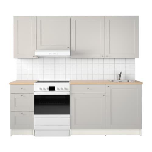 Ikea Kitchen Design Login: KNOXHULT Kitchen Grey 220 X 61 X 220 Cm
