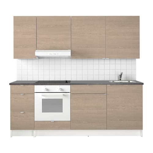 IKEA KNOXHULT kitchen Stands steady on uneven floors because the feet are adjustable.