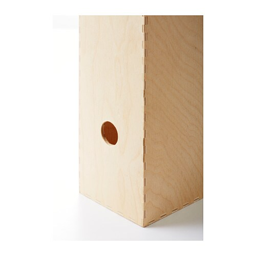 knuff magazine file set of 2 plywood ikea. Black Bedroom Furniture Sets. Home Design Ideas