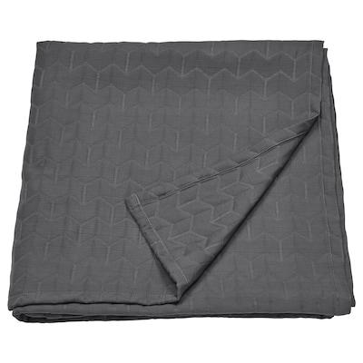 KÖLAX Bedspread, grey, 150x250 cm
