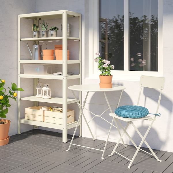 KOLBJÖRN Shelving unit in/outdoor, 80x35x162 cm