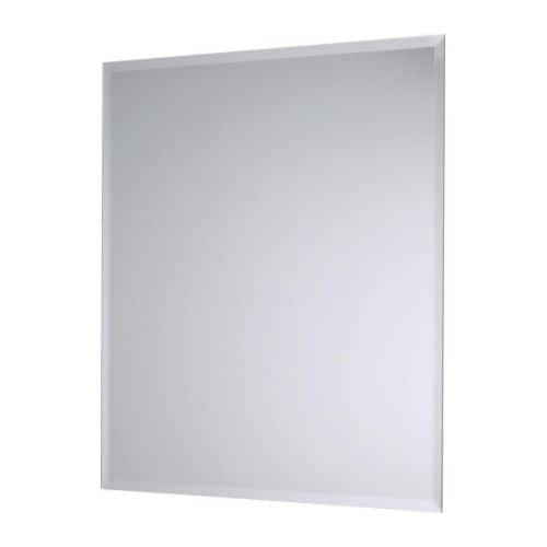 KOLJA Mirror IKEA Can be used in high humidity areas.  Provided with safety film - reduces damage if glass is broken.