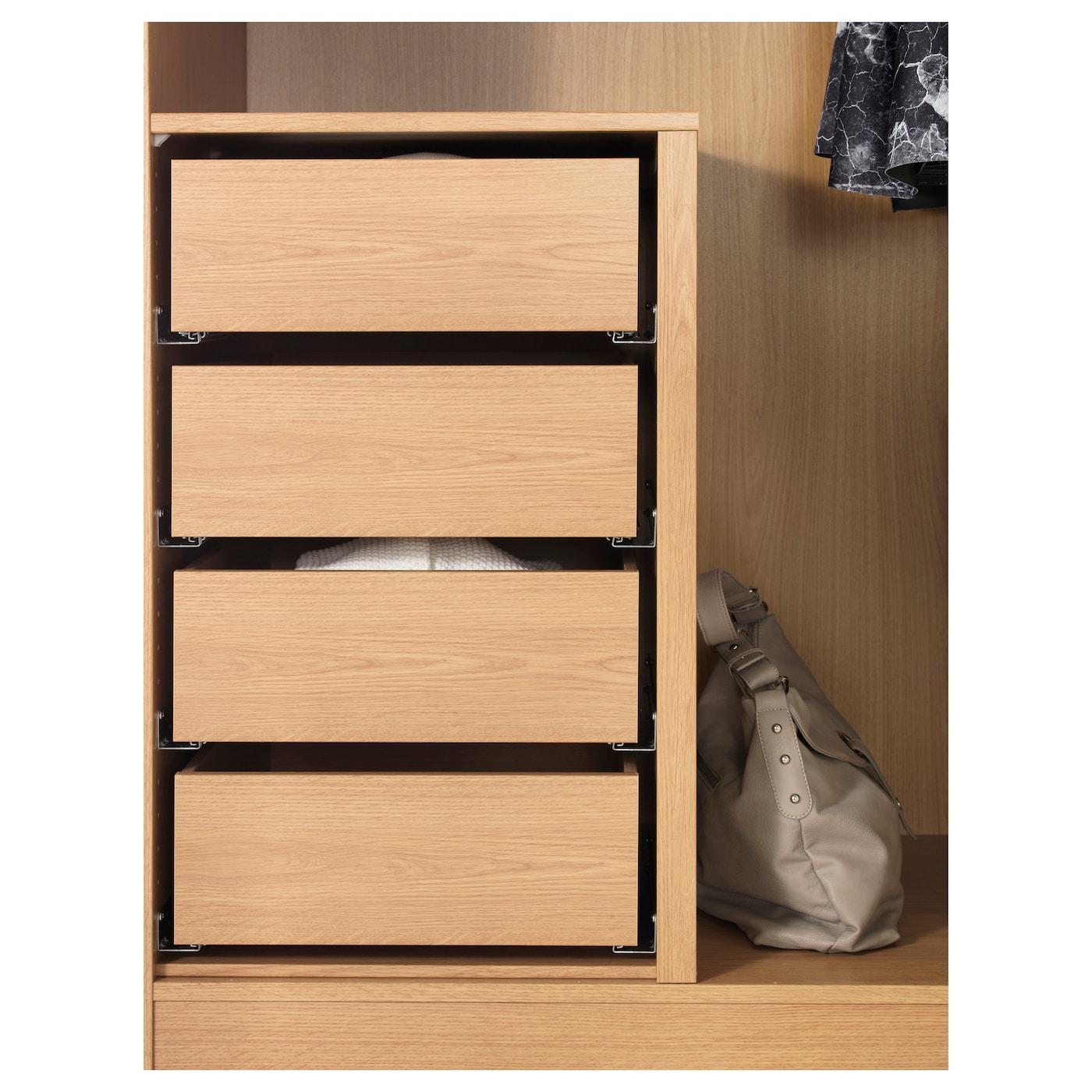 komplement divider for frames oak effect 75 100 x 58 cm ikea. Black Bedroom Furniture Sets. Home Design Ideas