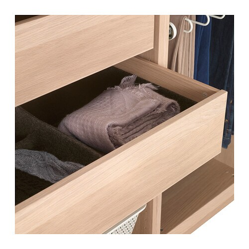komplement drawer white stained oak effect 100x58 cm ikea. Black Bedroom Furniture Sets. Home Design Ideas