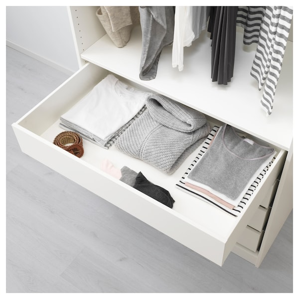 Komplement White Drawer 100x58 Cm Ikea