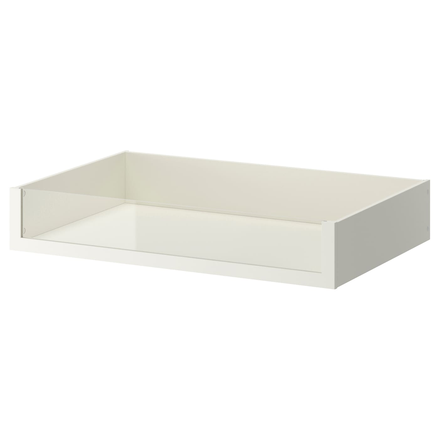 Komplement drawer with glass front white 100x58 cm ikea for Ikea complementi