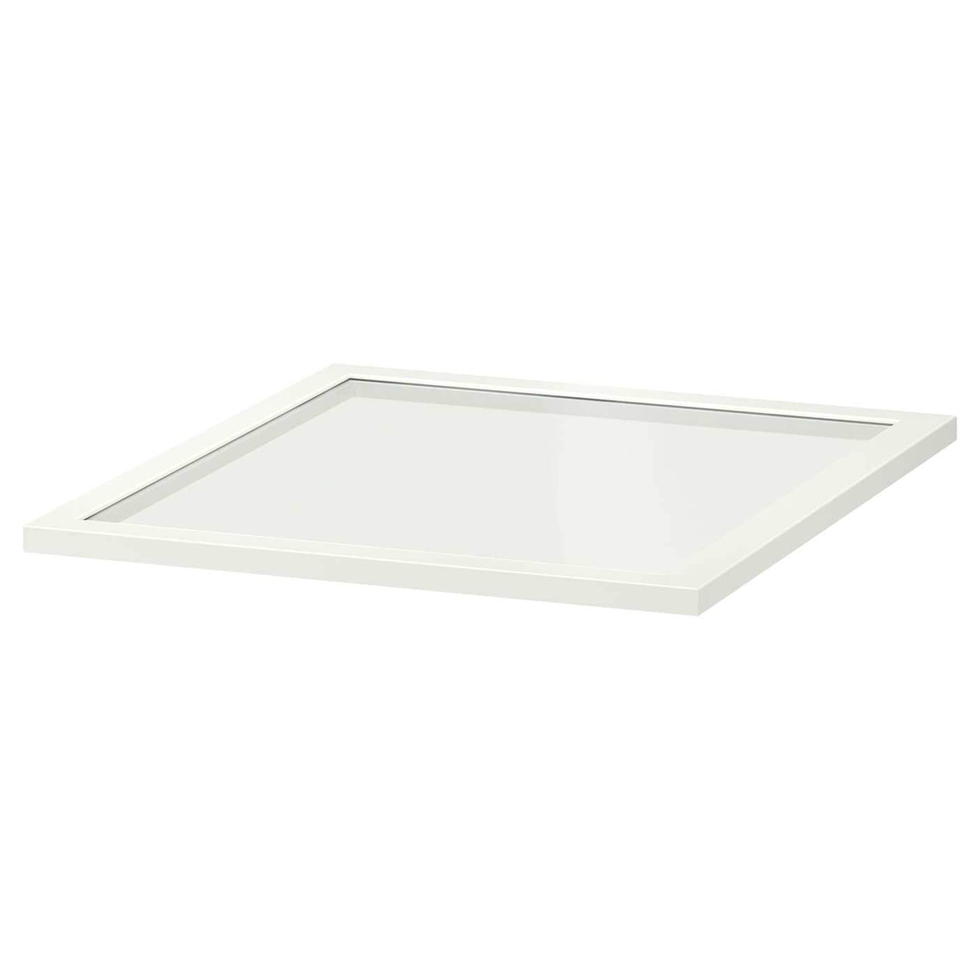 IKEA KOMPLEMENT glass shelf 10 year guarantee. Read about the terms in the guarantee brochure.
