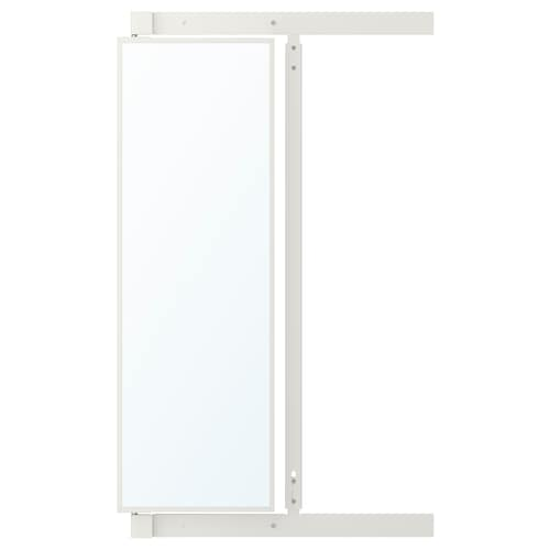 IKEA KOMPLEMENT Pull-out mirror with hooks