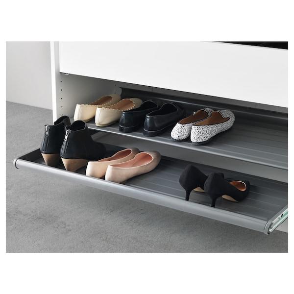 Pull Out Shoe Shelf Komplement Dark Grey