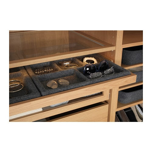 Komplement pull out tray oak effect 100x58 cm ikea for Ikea complementi