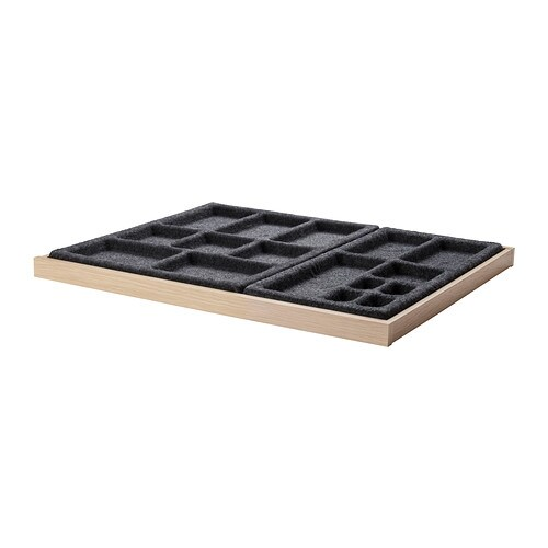 IKEA KOMPLEMENT pull-out tray with insert