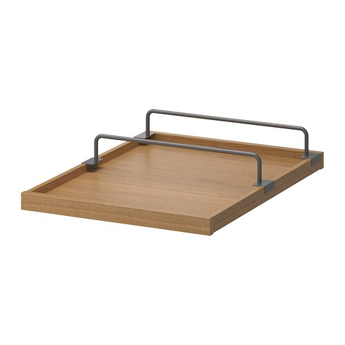 IKEA KOMPLEMENT pull-out tray with shoe rail