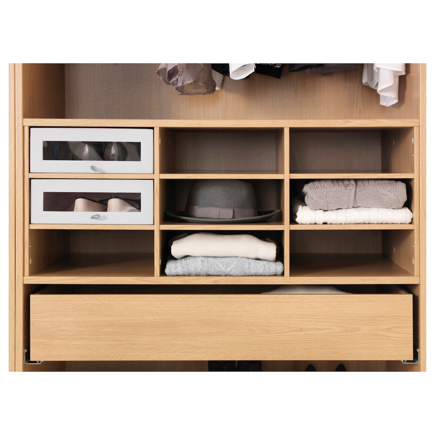 Ikea Pax Komplement Kommode : IKEA KOMPLEMENT sectioned shelves 10 year guarantee. Read about the ...