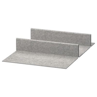 KOMPLEMENT Shoe insert for pull-out tray, light grey, 50x58 cm