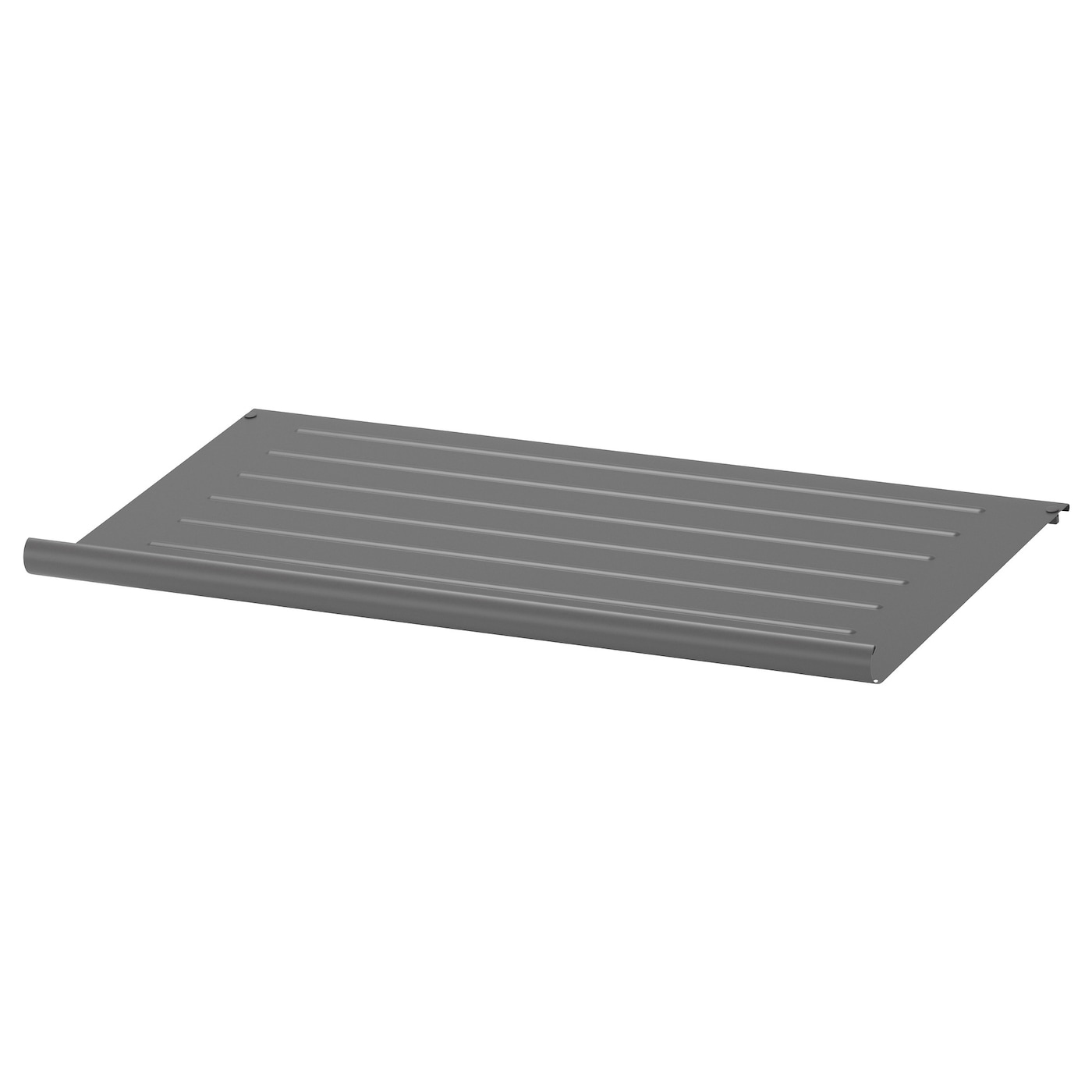 Komplement shoe shelf dark grey 75x35 cm ikea for Ikea complementi