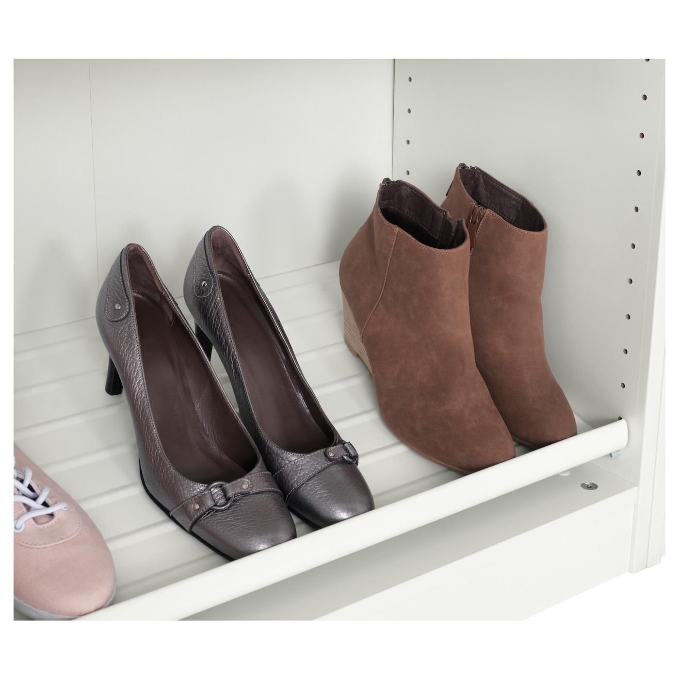 Komplement shoe shelf white 100x35 cm ikea for Ikea pax schuhregal