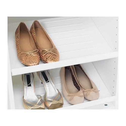 Komplement shoe shelf white 50x35 cm ikea for Ikea pax schuhregal