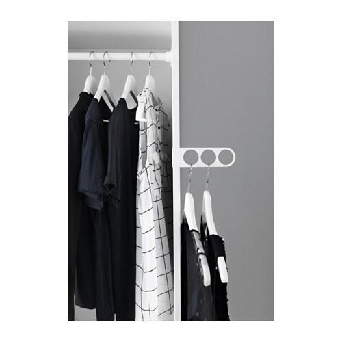 komplement valet hanger white 17x5 cm ikea. Black Bedroom Furniture Sets. Home Design Ideas