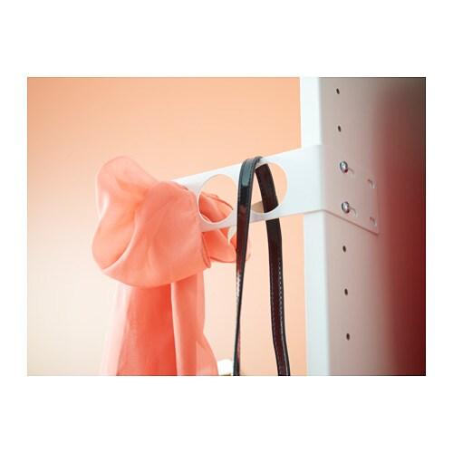 Komplement Valet Hanger White 17x5 Cm Ikea