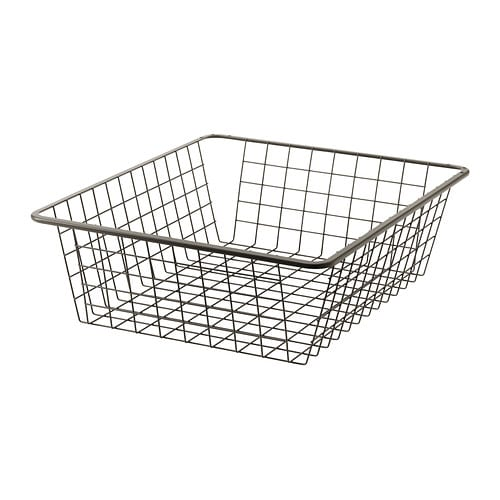 KOMPLEMENT Wire basket with pull-out rail IKEA 10 year guarantee.   Read about the terms in the guarantee brochure.