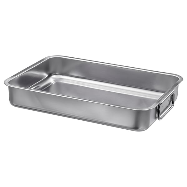 KONCIS roasting tin stainless steel 34 cm 24 cm 5.5 cm