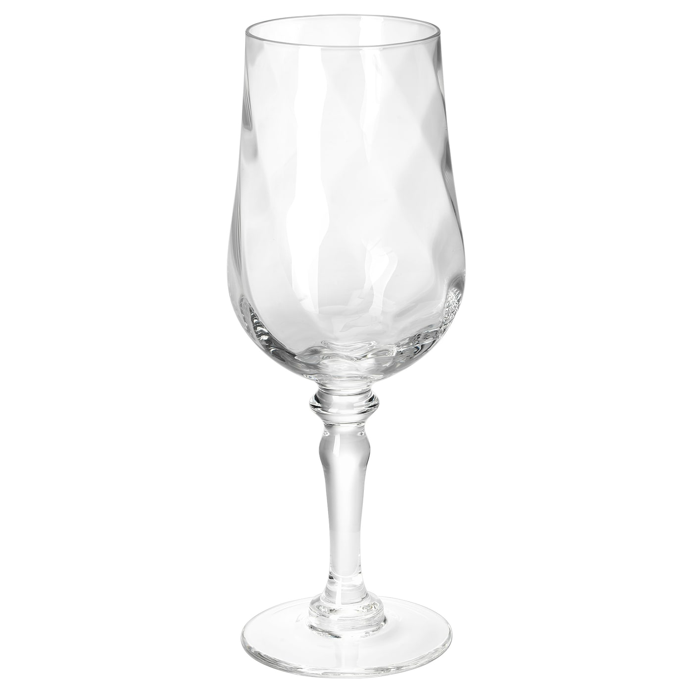 IKEA KONUNGSLIG wine glass Each glass has been mouthblown by a skilled craftsman.