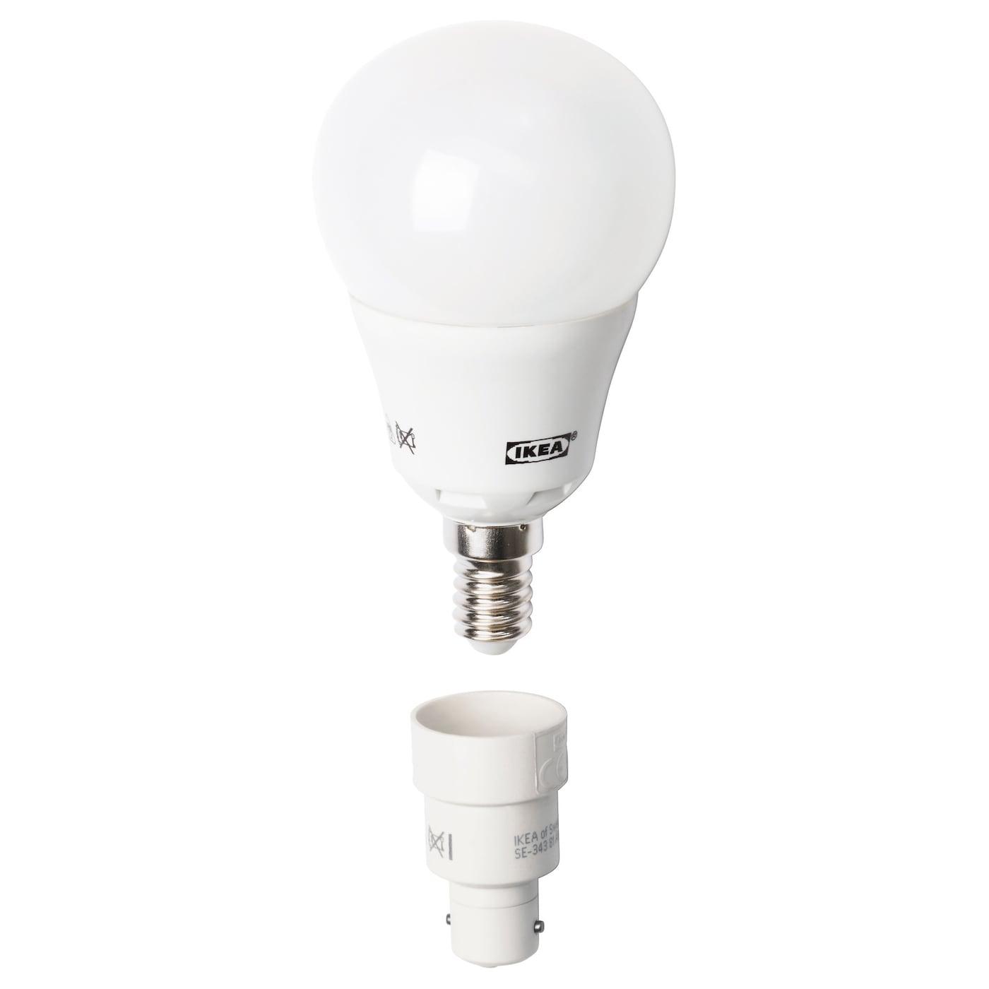 koppla b15 to e14 bulb converter ikea. Black Bedroom Furniture Sets. Home Design Ideas