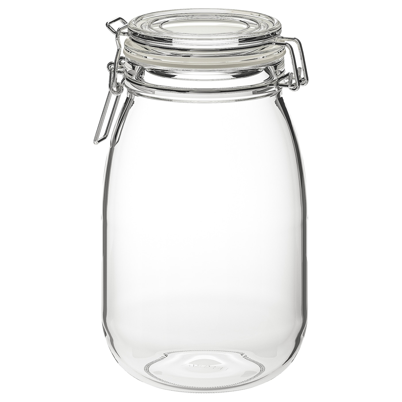 IKEA KORKEN jar with lid The aroma-tight seal helps food retain its flavour and aroma longer.