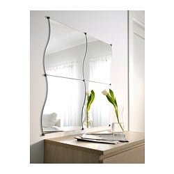 Krabb mirror 44x40 cm ikea - Espejo con bombillas ikea ...