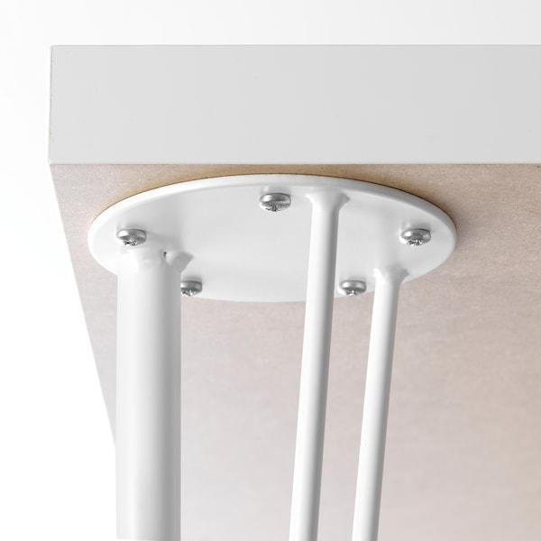 KRILLE Leg with castor, white, 70 cm