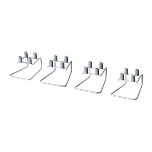 KROKVIK Chair hanger IKEA To be mounted on the underside of a table top for convenient hanging of chairs; clears floor space and makes cleaning easy.