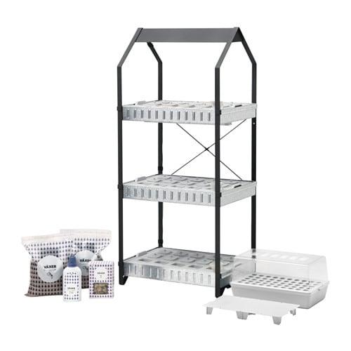 KRYDDA/VÄXER Grow kit w 20 pots, 20 tiers - IKEA | title