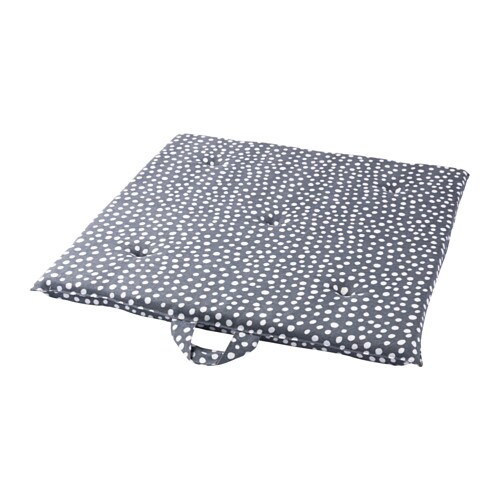 IKEA KRYDDAD chair pad Polyurethane foam provides great comfort and long-lasting support.
