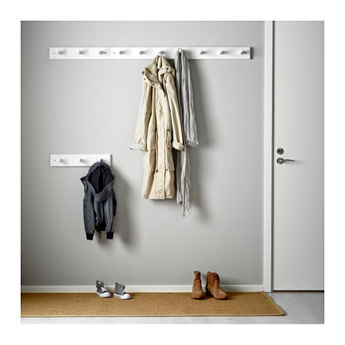 kubbis rack with 3 hooks white ikea. Black Bedroom Furniture Sets. Home Design Ideas
