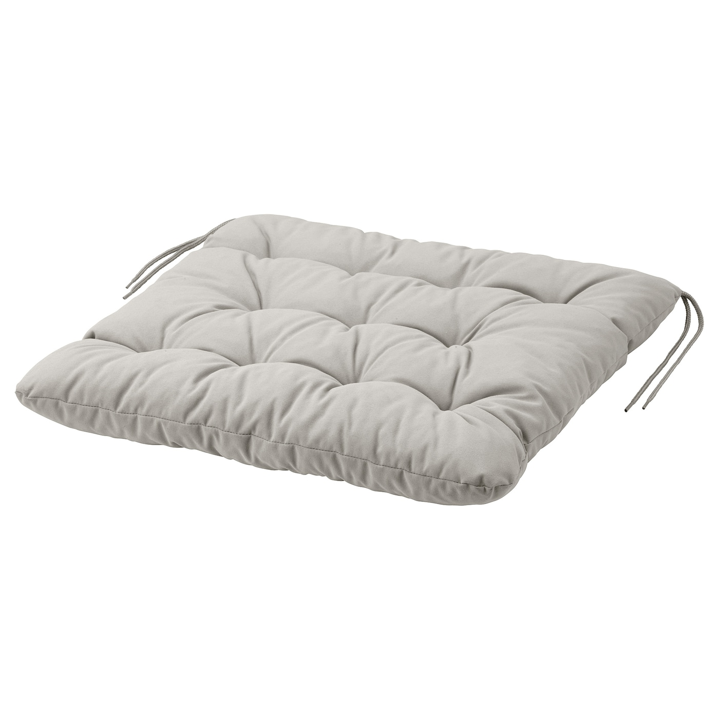Ikea Kuddarna Chair Cushion Outdoor Ties Keep The Firmly In Place On