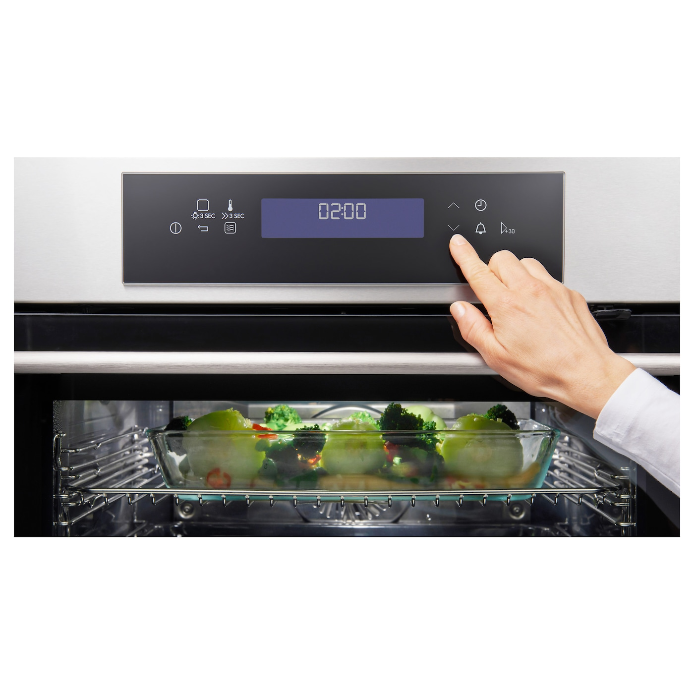 IKEA KULINARISK microwave combi with forced air