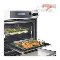 kulinarisk oven with steam function stainless steel ikea. Black Bedroom Furniture Sets. Home Design Ideas