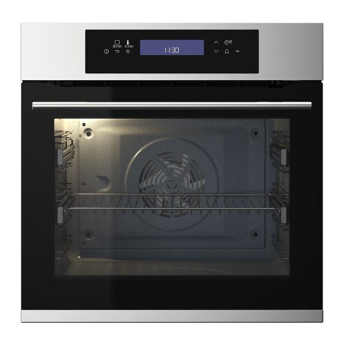 IKEA KULINARISK pyrolytic oven 5 year guarantee. Read about the terms in the guarantee brochure.