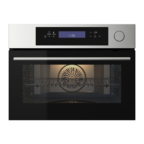 IKEA KULINARISK steam oven 5 year guarantee. Read about the terms in the guarantee brochure.