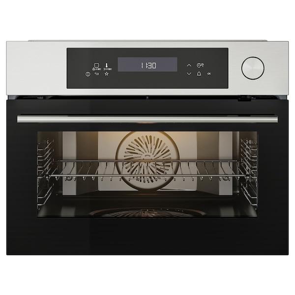 KULINARISK Steam oven, stainless steel