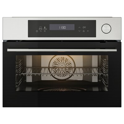 KULINARISK Steam oven, stainless steel