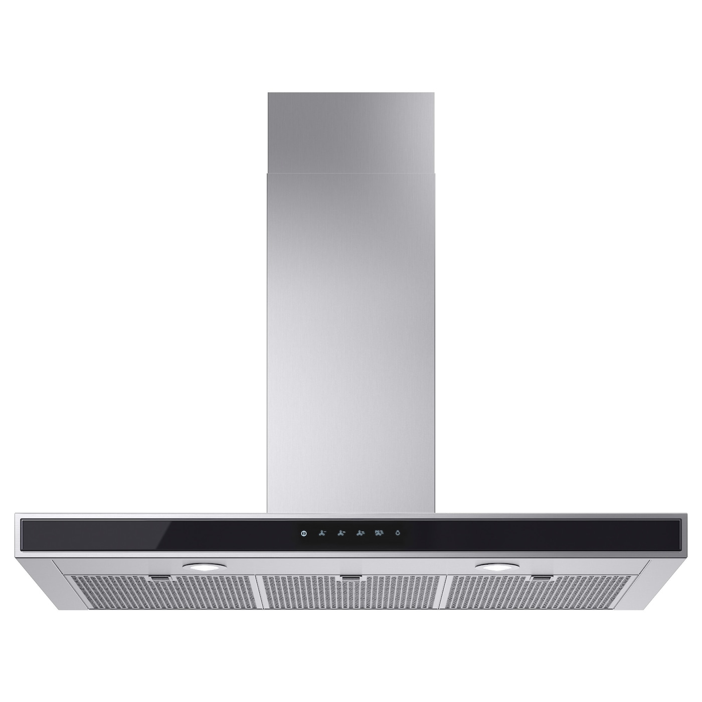 IKEA KULINARISK Wall Mounted Extractor Hood Touch Control Panel At Front  For Easy Access And Use